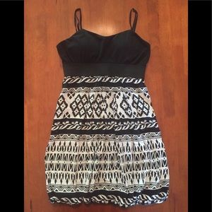 EUC super cute dress with padded top size Small